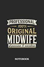 Professional Original Midwife Notebook of Passion and Vocation: 6x9 inches - 110 dotgrid pages • Perfect Office Job Utilit...