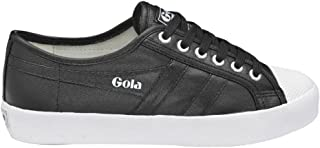 Gola Sport Womens Coaster Metallic Canvas Trainers