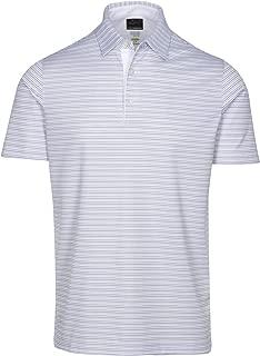 Men's Protek Ml75 Microlux 2 Below Stripe Polo