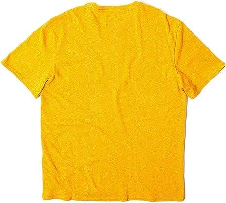 HUF - Camiseta - Manga corta - para hombre amarillo Mostaza ...