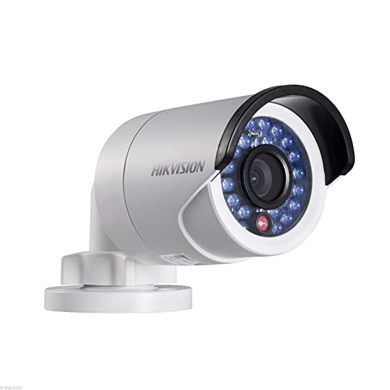 Hikvision DS-2CD2020-I Outdoor IP Network Bullet Color Camera, HD 2MP, 4mm Lens
