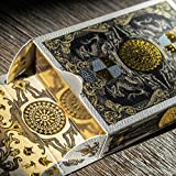 Medieval Royal Playing Cards with Unique Seal and Free Card Game eBook. Stand Out with Cool Poker Cards, Black Playing Cards, Unique Illustrated Designs for Kids & Adults, Playing Card Decks