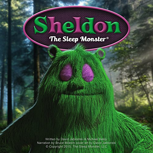 Sheldon the Sleep Monster audiobook cover art