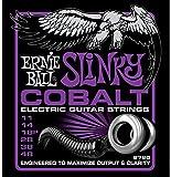 CUERDAS GUITARRA ELECTRICA - Ernie Ball (2720) Slinky Cobalt Power Color Violeta (Juego 012/048)