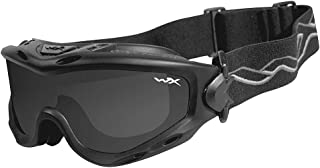 Wiley X Spear Goggle Matte Black Smoke Grey/Clear SP293B