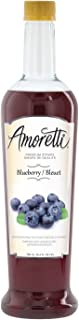 Amoretti Premium Syrup, Blueberry, 25.4 Ounce