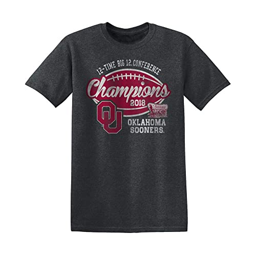 Sports Apparel Charcoal Crewneck Sweatshirt Men Elite Fan Shop 2018 NCAA Conference Champs Vintage