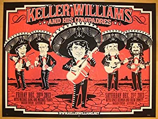 2013 Keller Williams - Keystone Concert Poster by Darin Shock