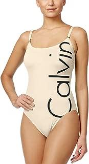 Best calvin klein one piece swimsuit logo Reviews