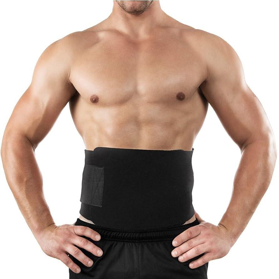 見落とす取る部屋を掃除するスリムキット、減量ラップ、サウナスーツ効果と胃脂肪バーナー、低戻ると腰椎サポート、ベスト腹筋トレーナーのためのウエストトリマーベルト