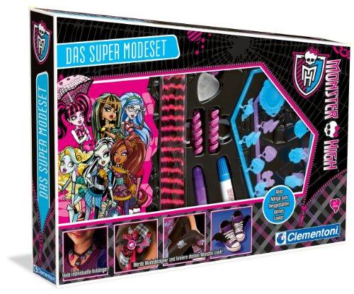 Clementoni 69223.1 – Monster High Le Super Mode Coffret de