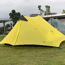 WaHe 2018 LanShan 2 3F UL Gear 2 Person Oudoor Ultralight Camping Tent 3 Season Professional 15D Silnylon Rodless Tent