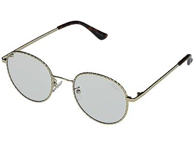 QUAY AUSTRALIA I See You Blue Light Glasses (Gold Rope/Clear Blue Light) Fashion Sunglasses