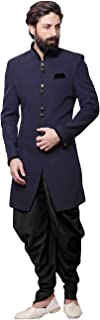 Readymade Indian Wedding Sherwani Set for Men Marriage Party wear Outfit Ethnic Traditional Dress