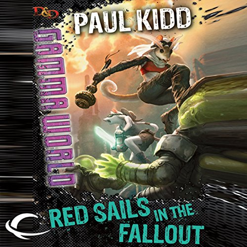 Red Sails in the Fallout audiobook cover art