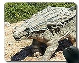 Yanteng Alfombrilla de ratón con Borde de Bloqueo, Dinosaurio fósil Dinosaurio, Alfombrilla de ratón