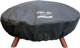 Landmann USA 29321 Super Sky Fire Pit Cover, 47-1/2-Inch Diameter, Black