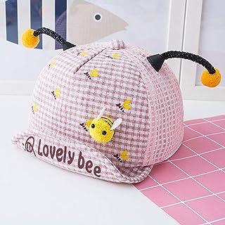 Sombreros para el sol para niños, sombreros para el sol lindos bebés, gorros para el sol con borde ancho, portátil plegable, protección solar, gorra para el sol con lindas orejas para el verano,Pink