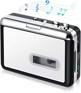 Cassette Player, OfficeLead Classical Portable Tape Player, Compatible with Laptops and Personal Computers, Vintage Auto R...