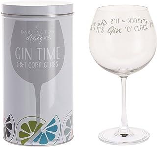 "Dartington Crystal Gin Time Ballonglas – It""s Gin o""clock"