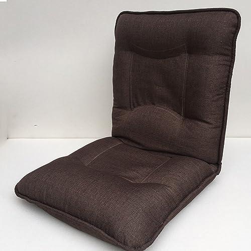 GGCG Canapé Paresseux, Extra Grand lit rembourré Ordinateur Chaise Pliante Balcon pour Enfants Pause déjeuner canapé (Couleur  Marron) (Couleur   B)