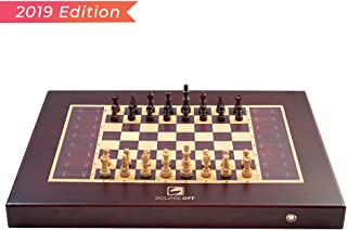 Square Off Chess Set - an Electronic Chessboard, which Moves The Opponent's Wooden Chess Pieces on its Own. Kids or Adults can Play Against The AI or Any Online Chess Player Across The Globe.