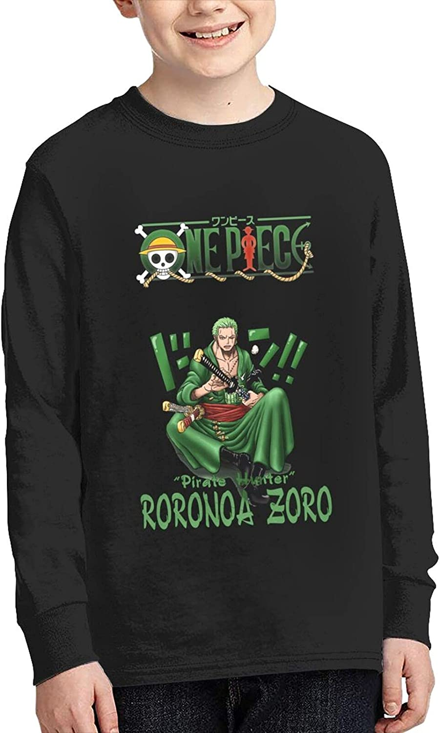 One Piece Roronoa Zoro T Shirts Novelty Sl Anime online shop Children's Long Limited Special Price