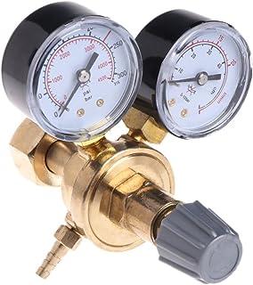 HELYZQ Regulador de solda com válvula de controle de fluxo Mig e redutor de pressão de CO2 da Argon