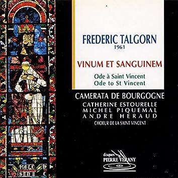 Talgorn : Vinum et Sanguinem, Ode à St-Vincent