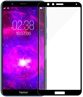 [3-Pack] LALLEY Compatible for Screen Protector,[Full Coverage][Edge to Edge] [Tempered Glass] with Lifetime Replacement Warranty Huawei Honor 7X/Mate SE