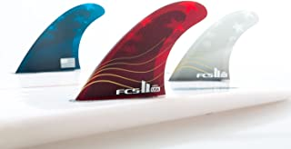 FCS II Limited Edition 4th of July USA Series - Performance Core - size Medium - Tri-Fin Set Red/White/Blue