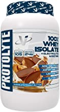 VMI Sports ProtoLyte 100% Whey Isolate Protein Powder Chocolate Peanut Butter Zero Sugar with Added Electrolytes & Enzymes 1.6lb