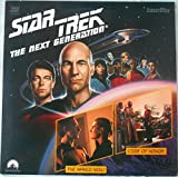 Star Trek The Next Generation Laserdisc Episodes 3 & 4 The Naked Now & Code Of Honor, with Patrick Stewart, Frakes, Levar Burton, Michael Dorn, Brent Spiner.