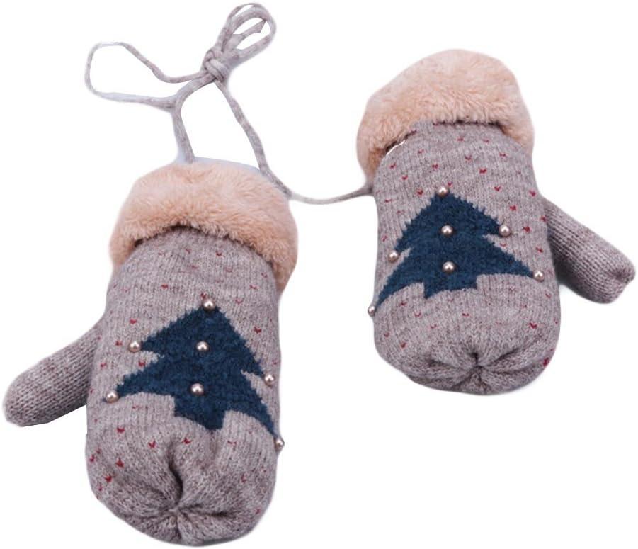 Panda Legends Knitted Glove Winter Warm Gloves Full Finger Mittens Halter Gloves Keep Warm