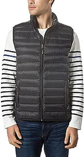 Men Packable Lightweight Down Vest Outdoor Puffer Vest