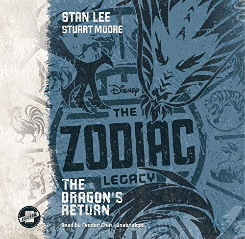 The Zodiac Legacy: The Dragon's Return audiobook cover art