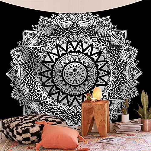 WERT Tapiz de Mandala Indio para Colgar en la Pared, Manta de Playa, cojín para Dormir Bohemio, Tapiz para decoración del hogar, Tela de Fondo A2 150x200cm
