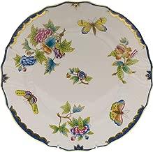 Herend Queen Victoria Blue Porcelain Dinner Plate