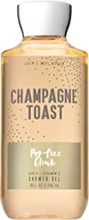 Bath and Body Works CHAMPAGNE TOAST Shower Gel 10 Fluid Ounce (2018 Limited Edition)