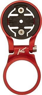 K-Edge 660161-03 Steerer Tube Mount Adjustable Bracket, Red