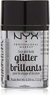 NYX PROFESSIONAL MAKEUP Face & Body Glitter, Ice