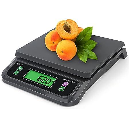 ZCXBHD Balances électroniques cuisine 30kg / 1g, balance de nourriture de Digital faisant cuire à la maison faisant cuire le fruit pesant des balances multifonctionnelles