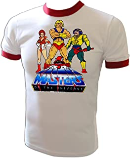 Vintage LIC 1983 He-Man Masters of The Universe Cartoon Heroes Motu T-Shirt