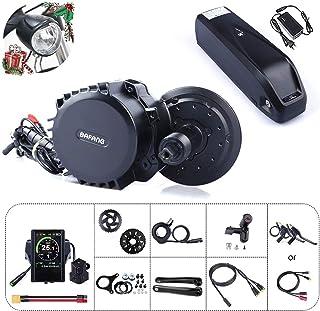 Junstar 8fun Bafang BBSHD BBS03 48V 1000W Kit de conversión de Bicicleta eléctrica de Medio Motor con batería E-Bike Bater...