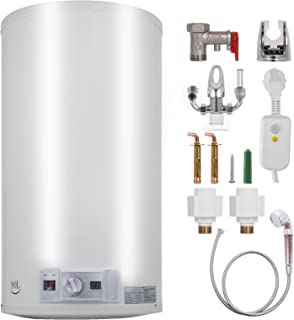 comprar comparacion Bisujerro 100L Calentador de Agua Eléctrico 3KW Calentador de Agua con Tanque Hot Water Heater para Uso en Cocina o en Bañ...