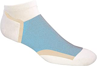 Jox Sox Women's Ultra Series (Low Cut) Socks (White/Sky)