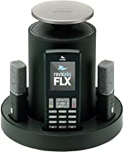 Revolabs 10-FLX2-200-POTS Wireless Conference Phone for Analog Phone Lines, Omnidirectional Microphone