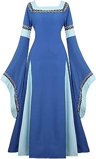 renaissance blue dress