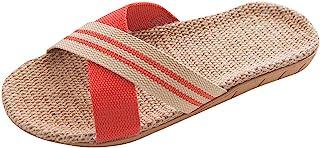 Sandalias Mujer Verano 2019 Planas Lanskirt Zapatillas Casa Mujer Elegantes Zapatillas de Playa Moda Antideslizante de Lin...