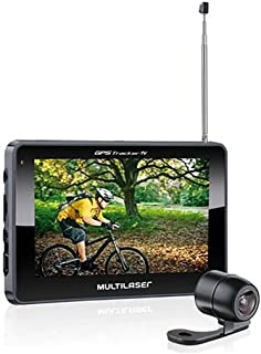 GPS LCD 4,3 Pol. Touch Tv Digital Rádio FM com Câmera de Ré Avin Multilaser - GP035
